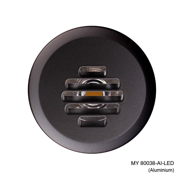 Round-Led-Step-with-louvre-Aluminium-1